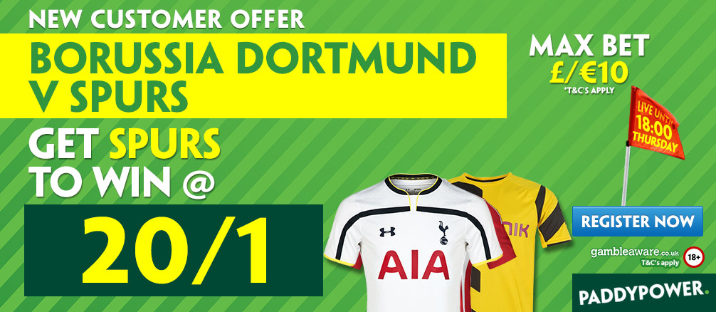 dortmund v tottenham prediction