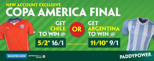 copa america enhanced odds