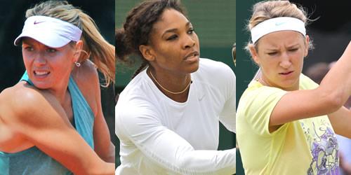 london 2012 women's tennis
