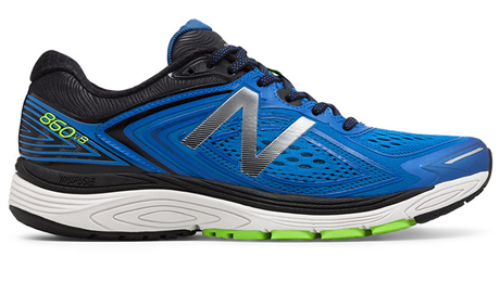 New Balance 860v8 running shoe review