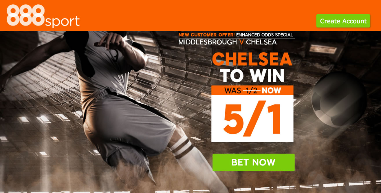 chelsea enhanced odds
