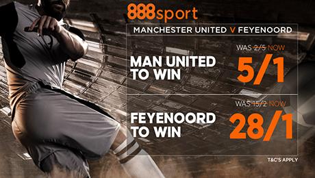 Man Utd v Feyenoord: 28/1 enhanced odds, prediction and betting tips