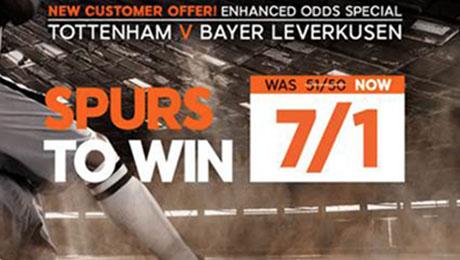 Tottenham v Bayer Leverkusen betting: 7/1 enhanced odds, kick-off time and prediction