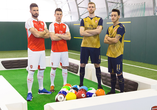 arsenal footpool