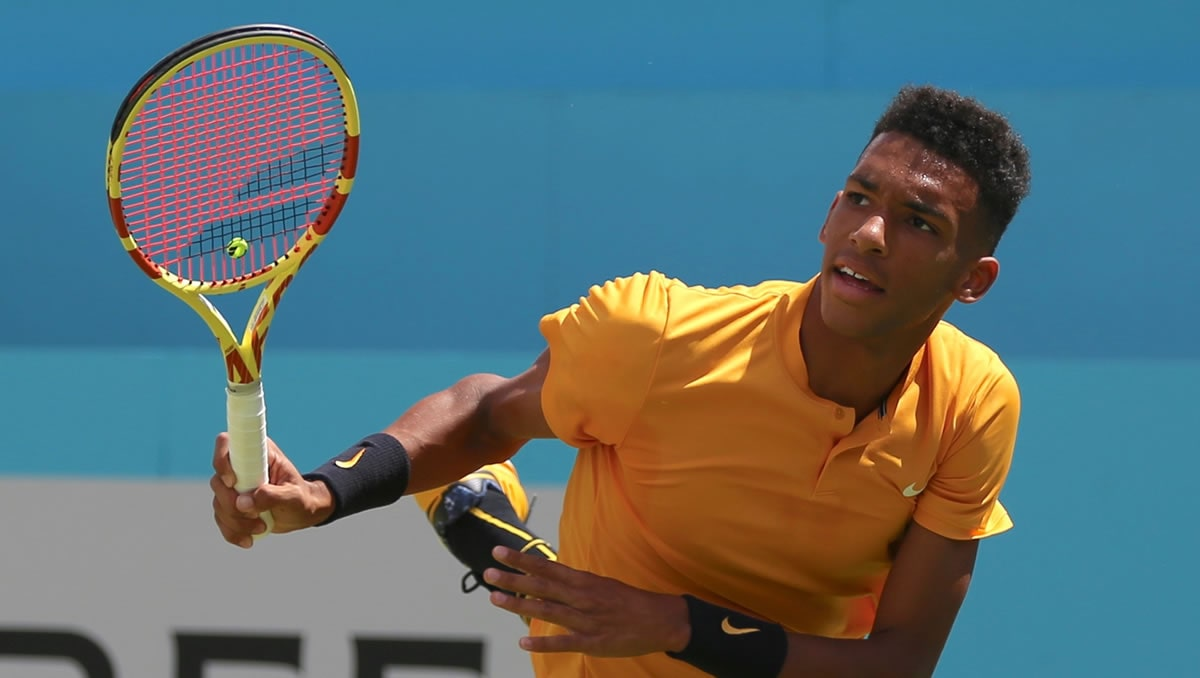 Canadian Felix Auger-Aliassime earns entry into Rotterdam semis