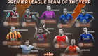 De Gea and Terry don't make stats-based team of the year