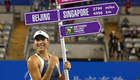 WTA Finals 2015: Garbine Muguruza is fourth to seal place in Singapore