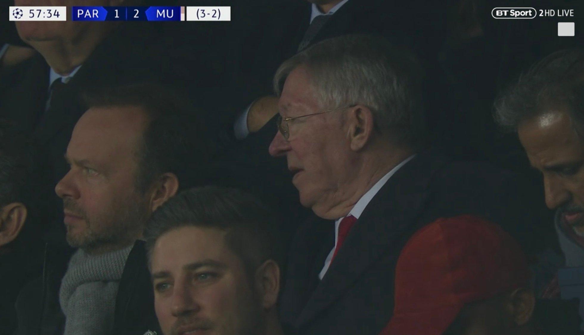 Sir Alex Ferguson (Photo: Screen grab / BT Sport)