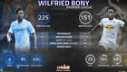 Stats show Man City struggling to get best out of Wilfried Bony