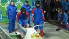 Sochi 2014: Russian bobsleigh win for 'whole country' on foggy day 10