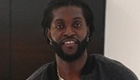 Adebayor relaxes after 'good training session'