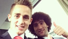 Januzaj wishes Fellaini happy birthday