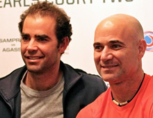 Sampras and Agassi reminisce on old rivalry