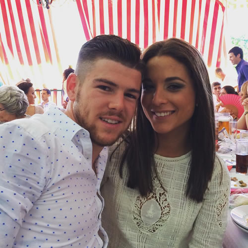 alberto moreno girlfriend