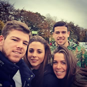 Photo: Liverpool's Alberto Moreno joined by girlfriend for shopping trip
