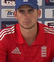 England v India: Alex Hales issues support  for Alastair Cook