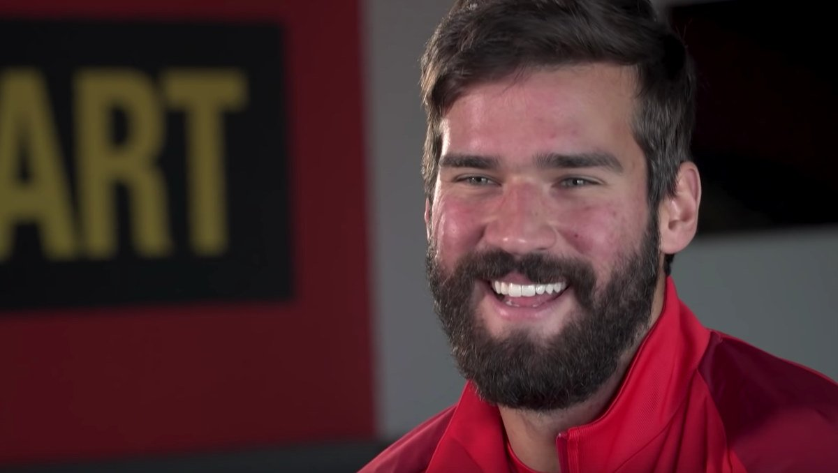 Alisson Becker (Photo: LFC TV / YouTube)