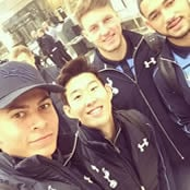 Alli celebrates Spurs qualification