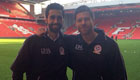 Photo: Liverpool legends Arbeloa and Alonso take Anfield snap