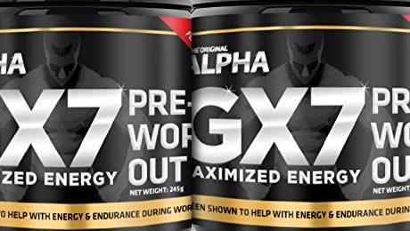 Alpha Gx7 Pre Workout review