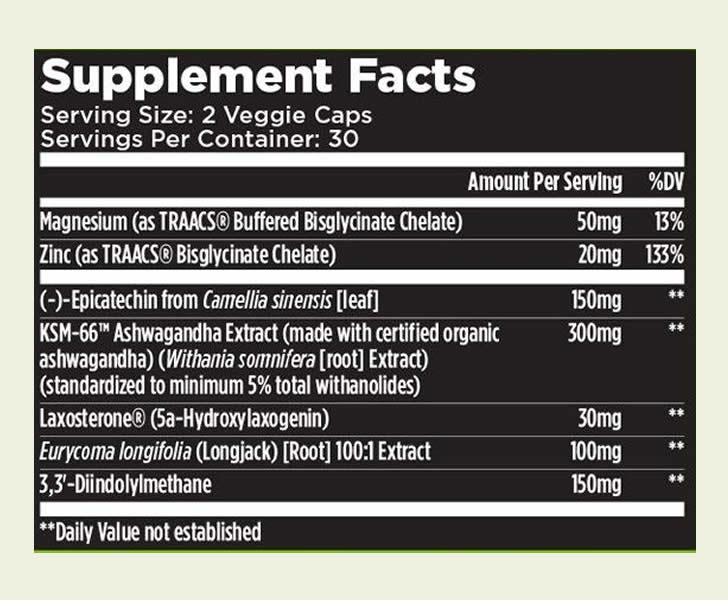Alpha Muscle XT ingredients