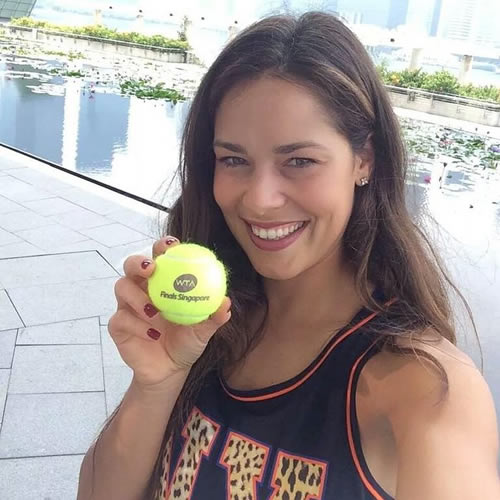 Photo: Ana Ivanovic ready for WTA Finals in Singapore ...