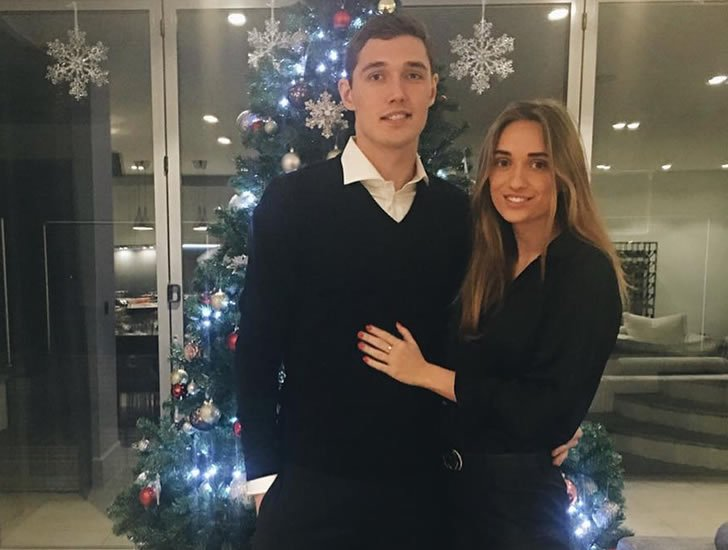 Andreas Christensen girlfriend