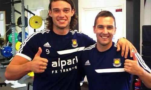 Andy Carroll Stewart Downing
