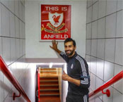 Photo: Alvaro Arbeloa 'counting down minutes' to Liverpool clash