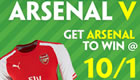 Get 10/1 enhanced odds on Arsenal to beat Chelsea