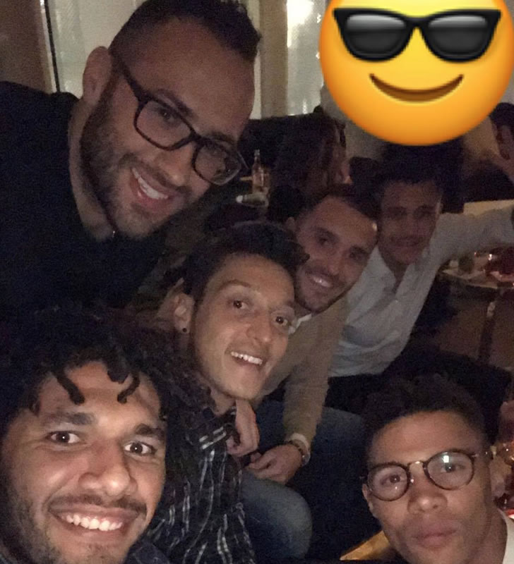 arsenal party