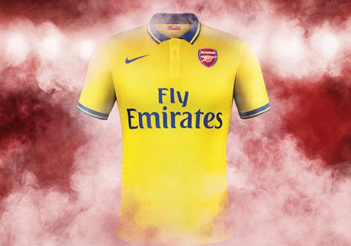 arsenal away kit 2013-14