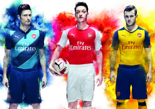 arsenal puma kits