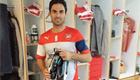 Photo: Arsenal captain Mikel Arteta can't wait to try his new boots