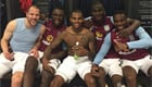 N'Zogbia posts Villa dressing room snap