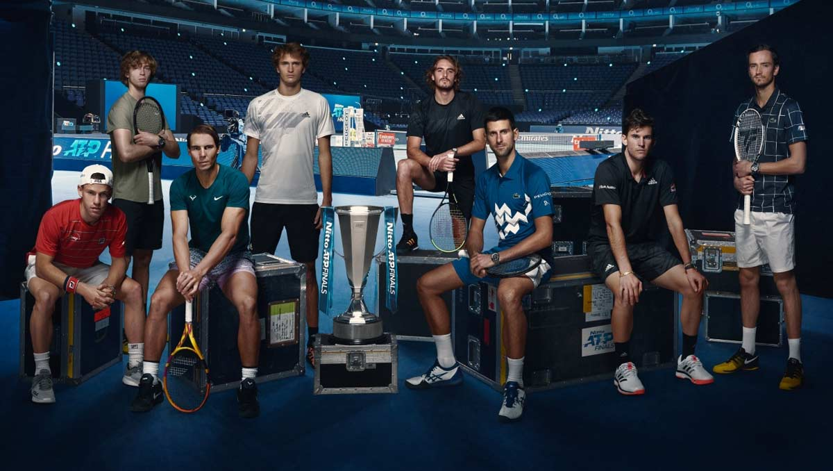 The Nitto ATP Finals 2020 line-up