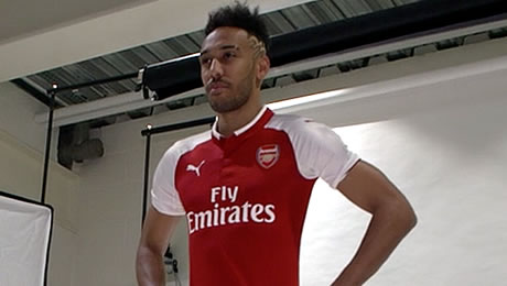 Pierre-Emerick Aubameyang reveals the attacking line-up he wants at Arsenal next season