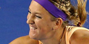 Victoria Azarenka frustrated by 'step back' in recovery from ankle injury