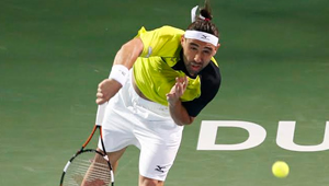 Dubai 2016: Inspired Baghdatis beats Lopez to set Wawrinka final