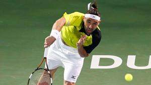 Dubai 2016: Inspired Baghdatis beats Lopez to set Wawrinka final