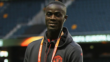 Photo: Eric Bailly sends upbeat message to Man United fans despite poor season