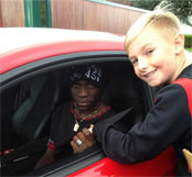 A young Liverpool fan lifts lid on Mario Balotelli's kind gesture
