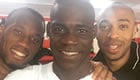 Photo: Mario Balotelli snaps selfie with Chelsea and Arsenal legends