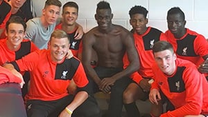 Photo: Mario Balotelli sends Liverpool message to Jurgen Klopp