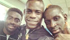 Balotelli training 'hard' with Liverpool stars