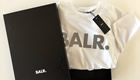 BALR. review: Luxury sports brand reflective logo T-shirts