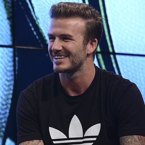 Man Utd Legend Beckham Relishing Dream Ferguson Reunion - Beckham hairstyle ferguson