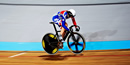 Becky James storms to keirin gold at World Championships