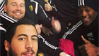 Hazard orchestrates selfie with Spurs star