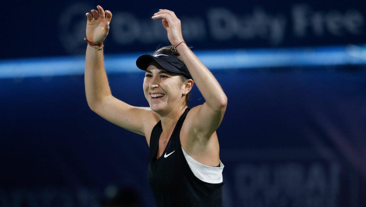 Belinda Bencic (Photo: Dubai Duty Free Tennis Championships)